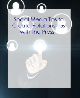 Social media tips to create relationships with the press post by Los Angeles Media Trainer Lisa Elia, of Expert Media Training™, serving Los Angeles and clients worldwide