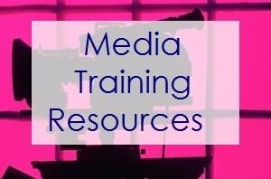 Media Training Resources from Expert Media Training and Media Trainer Lisa Elia