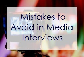 Top 5 Mistakes to Avoid in Media Interviews