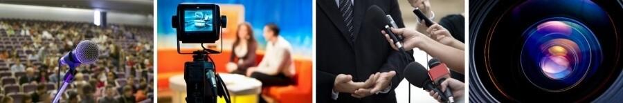 Media Training and Presentation Training - learn more at ExpertMediaTraining.com