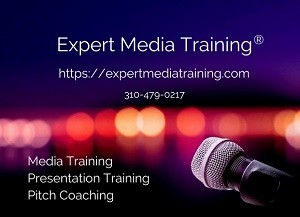 Expert Media Training provides media training, presentation training, pitch coaching and communication consulting to clients throughout the world.