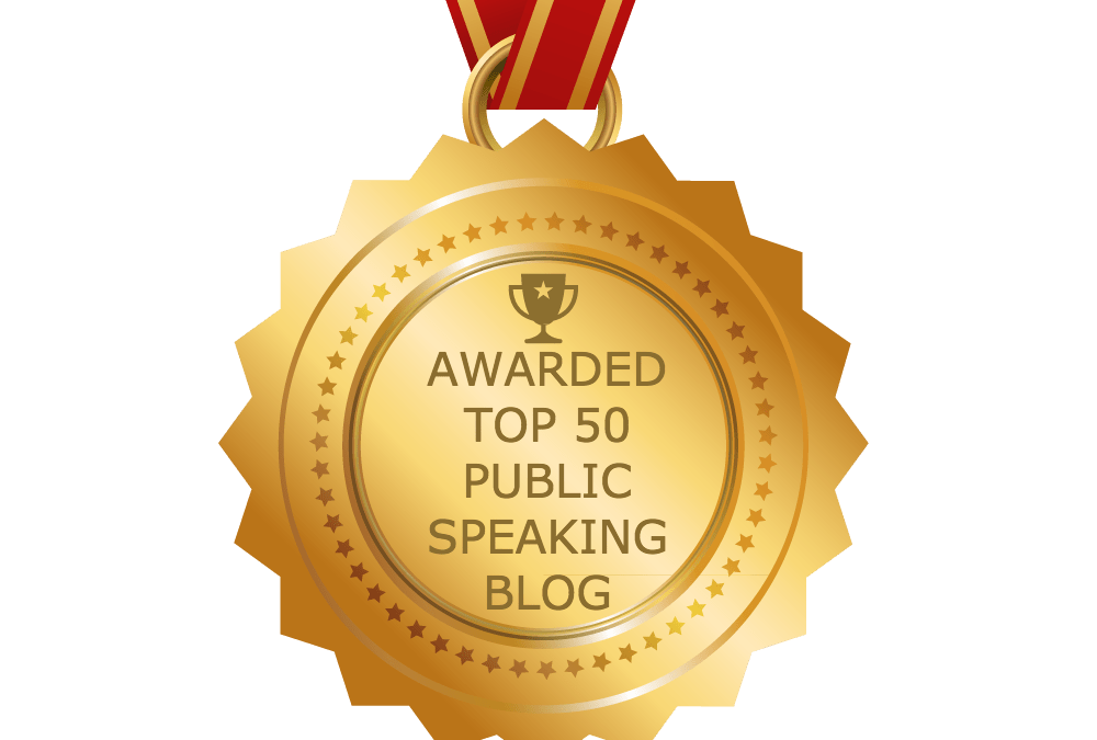 Expert Media Training™ Blog Among Top-Ranking Public Speaking Blogs